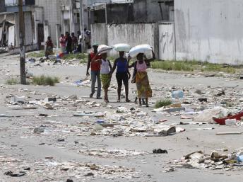 Abidjan, après pillage