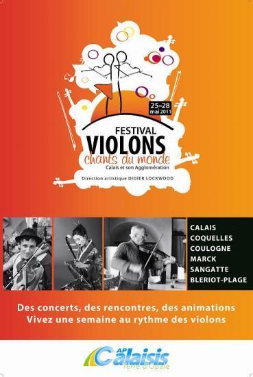 1er festival Violons, chants du monde en Calaisis