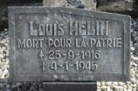plaque commémorative de L.HELIN