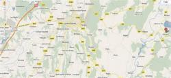 Carte pour les gens de l'ouest