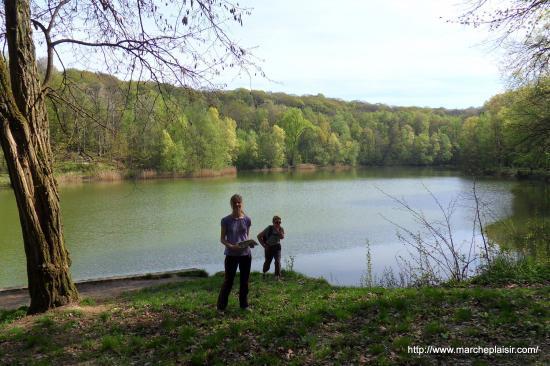 Le petit étang en forêt de Carnelle