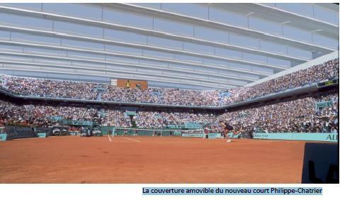 Le nouveau stade de Roland-Garros