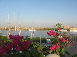 Vue sur le Nil.