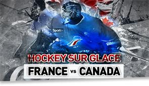 France - Canada (Hockey)