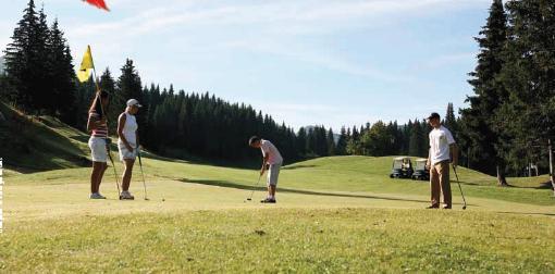 Golf en Savoie Mont Blanc, la destination montagne préférée des Français l'été