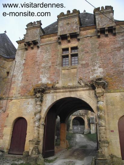 Granpré ( Corps de garde du château des Comtes de Joyeuse