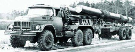 Le ЗИЛ-157КДВ 10x10 de Scand. ZIL-137-10x10-articulated-truck-1971