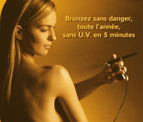 Le tanning ou la douche autobronzante  Web Libre