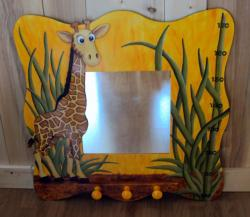 miroir girafe