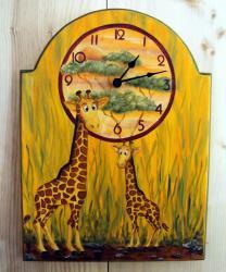 pendule girafe