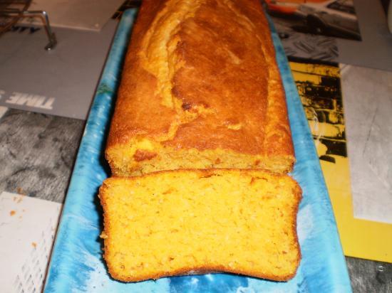 Cake sucr au potiron - Cake au potiron sucre ...