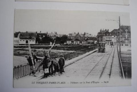 le pont d'Etaples en bois