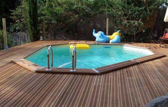 Piscines bois for Beaver pool piscine