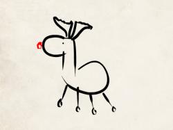 dessin renne