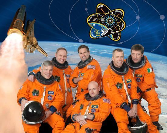 Équipage de la mission STS 134
