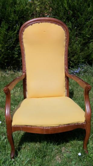 fauteuil voltaire. Black Bedroom Furniture Sets. Home Design Ideas