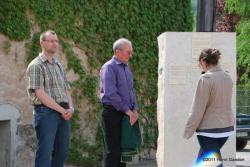 Cérémonie à Baulne en Brie