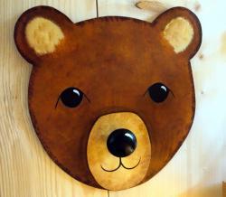 porte manteau ours