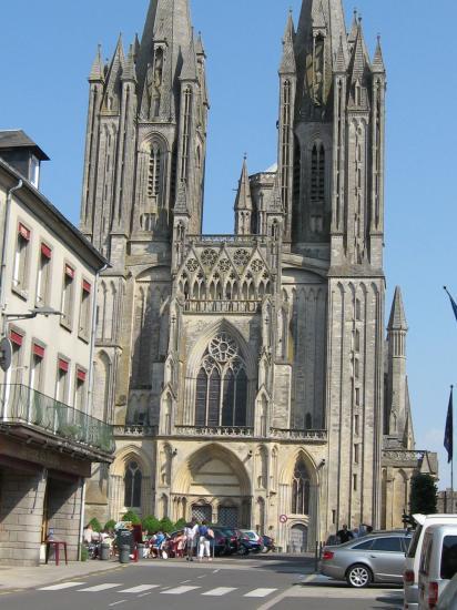 Coutances e la sua cattedrale - Finestre circolari delle chiese gotiche ...