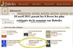 Buzz sur Babelio, Ramsès au pays des points-virgules fait partie des six livres les plus critiqués de la semaine