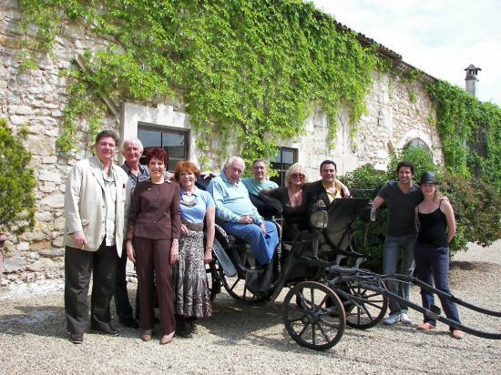 L'équipe autour de Michel GALABRU