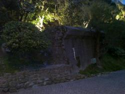 mur anti-char vallon/nuit Paques 2011