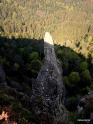 Aiguille du Capucin (cheminée de lave)