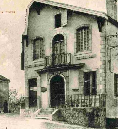 Ancienne poste vers 1930