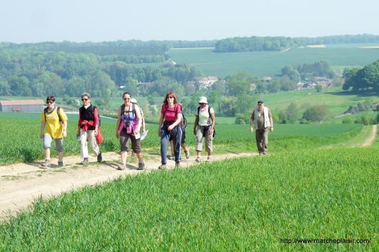 Marcheurs du côté de Delincourt