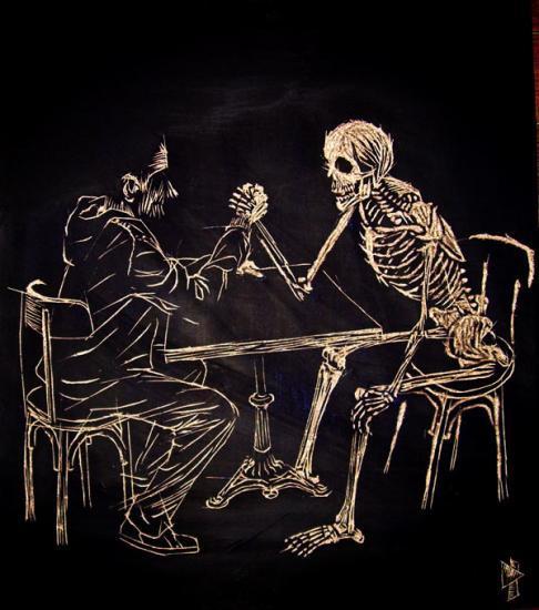 pute putain il la baise sur la table