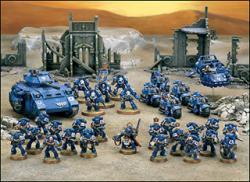 warhammer 40k armée ultramarine