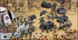 warhammer 40k battlefield