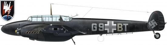 Messerschmitt 110
