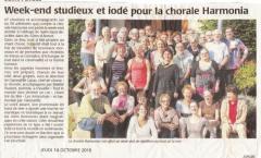 Harmonia 10/2011 - St Jacut de la Mer