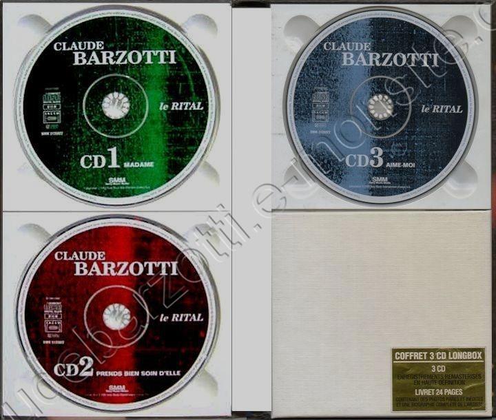 les 3 CD et le livret page 1