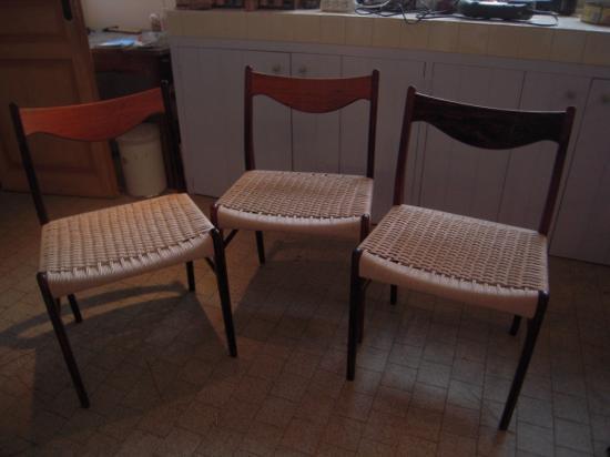 mon offre de services - Chaise Corde Tressee