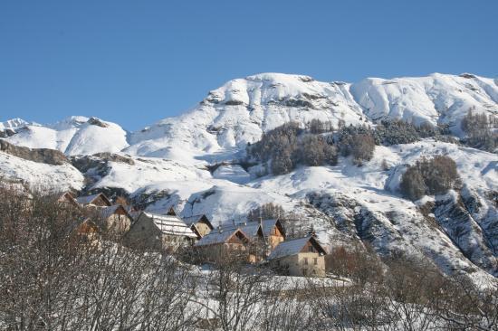 Village des Estaris l'hiver