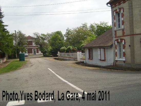 La gare de Castelnau Rivière Basse
