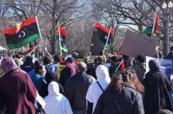 Manifestations à Washington D.C. le 19 février