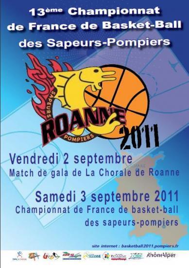 13e championnat de France de basket-ball sapeurs-pompiers