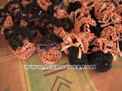 bonbonière au crochet