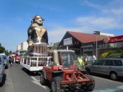 Le char du Carnaval !