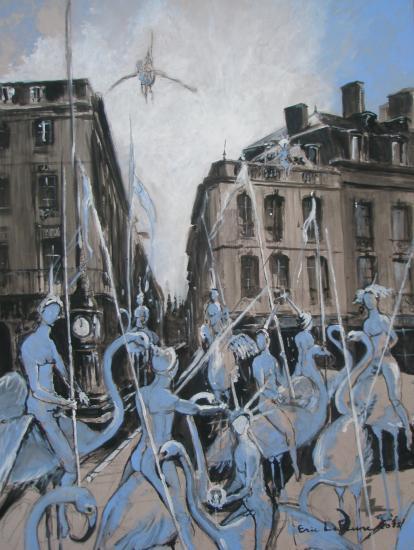Flamands à la Comédie. Bordeaux 2011. Format +60x80