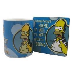 Tasse Homer et sa soucoupe