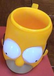Tasse tête Homer