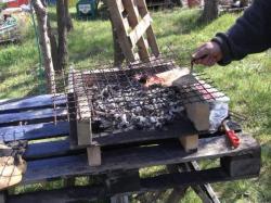 cuisson des côtelettes…