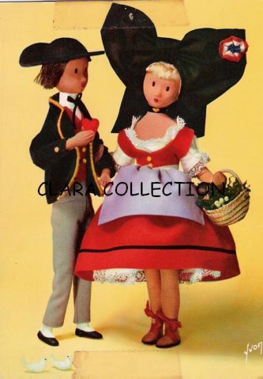 Carte postale Peynet