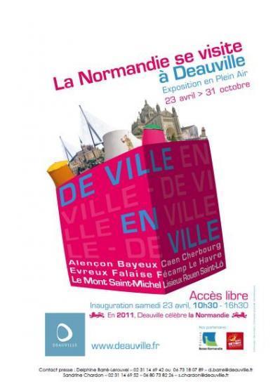 La Normandie se visite à Deauville