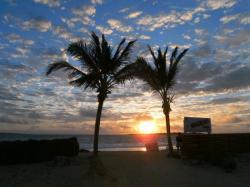 Levé de Soleil sur la Baie Orientale