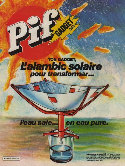 Couverture Pif Gadget 583, mai 1980